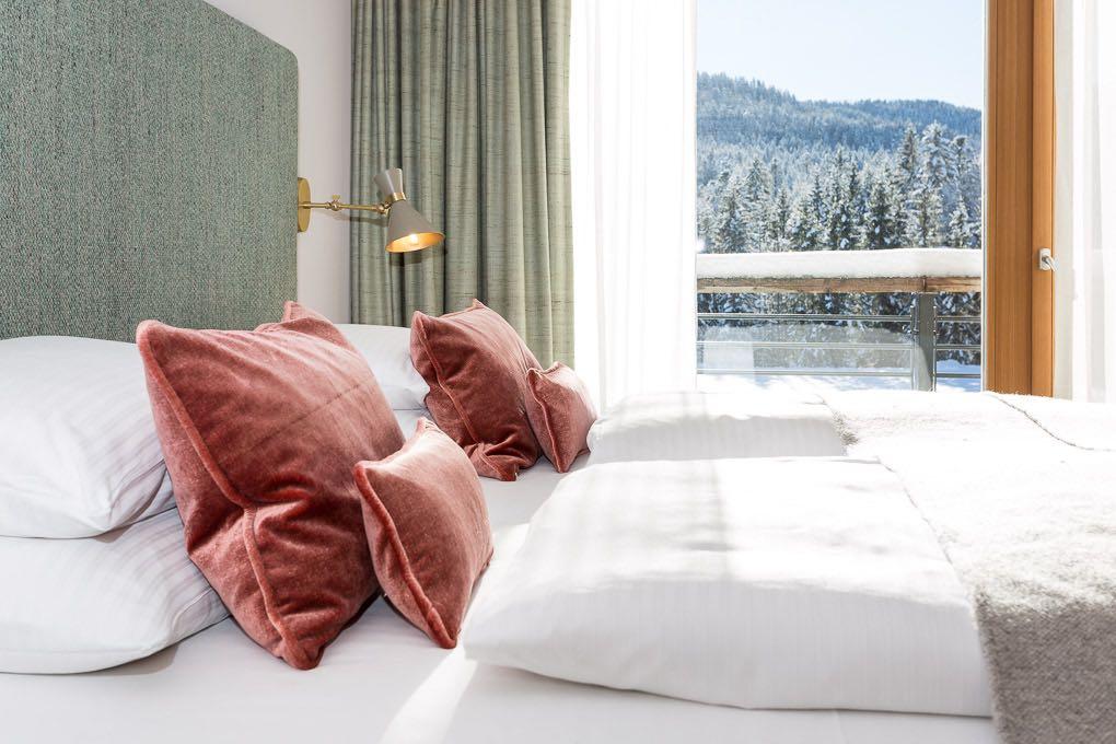 Hotelzimmer Das Kranzbach Winter Hotelfotografie Anneliese Kompatscher