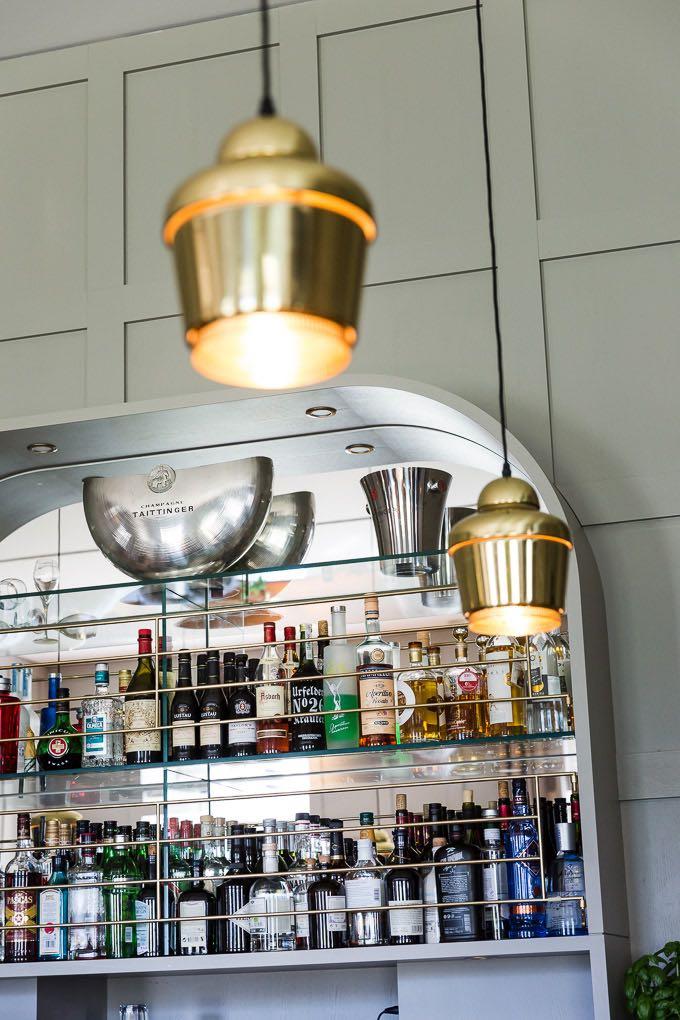 Bar, Detail im Hotel Das Kranzbach